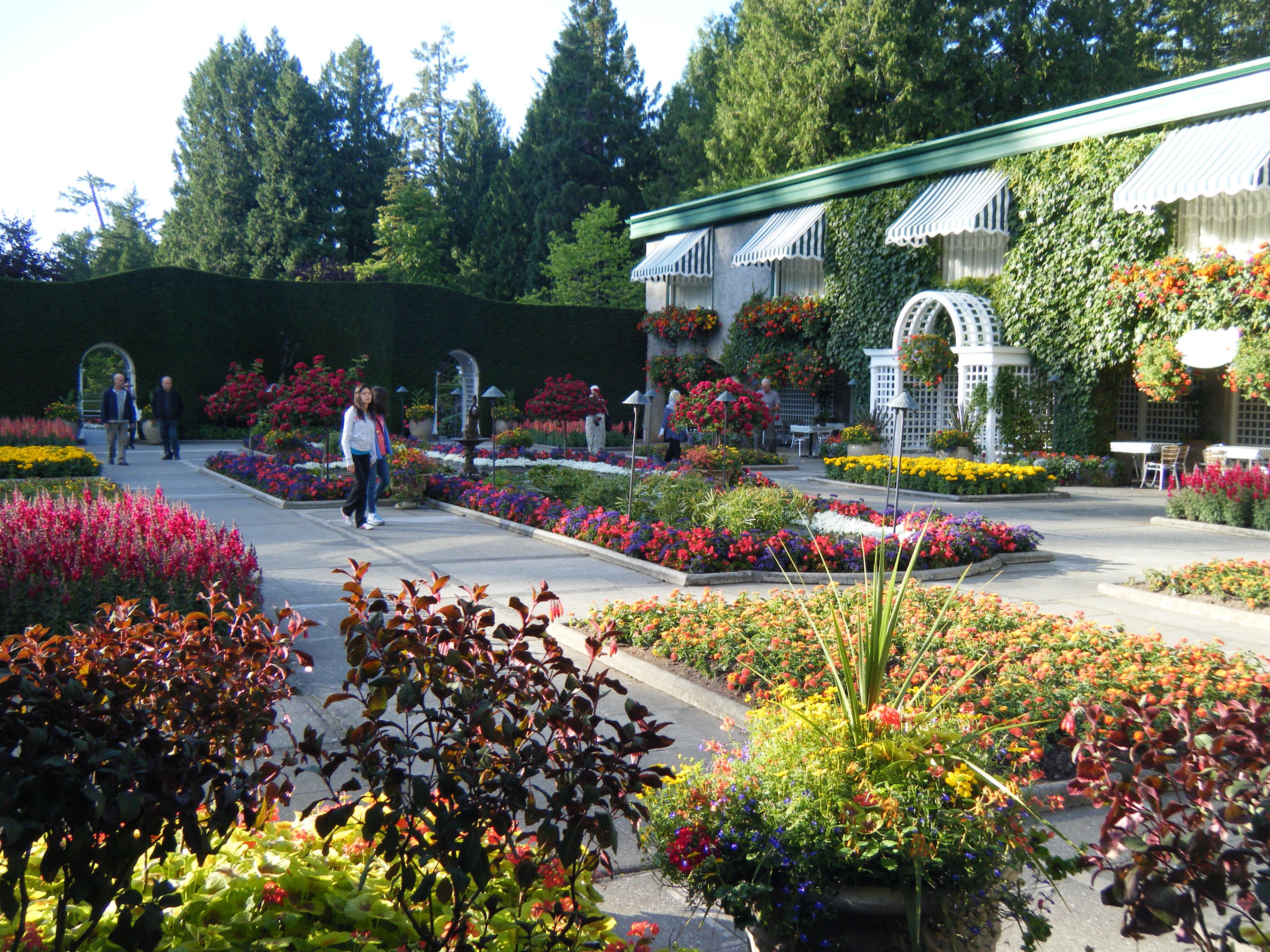 A visit to butchart gardens hortophile my new garden for Garden giardini