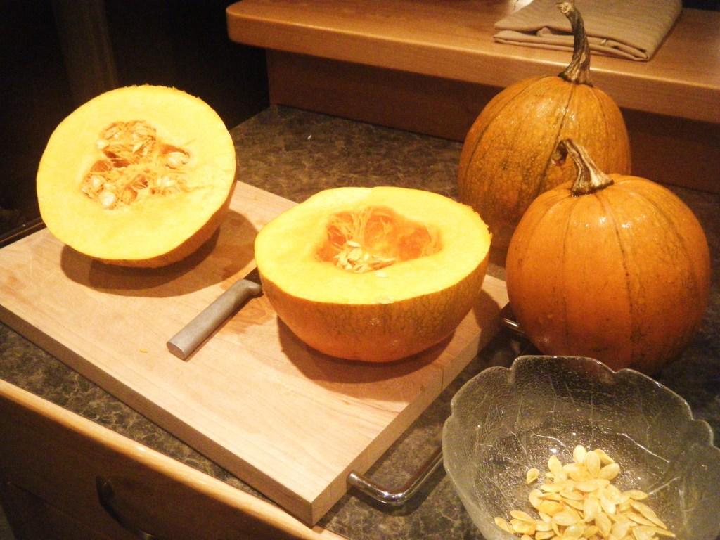 Triple Treat Pumpkins, small but tasty!