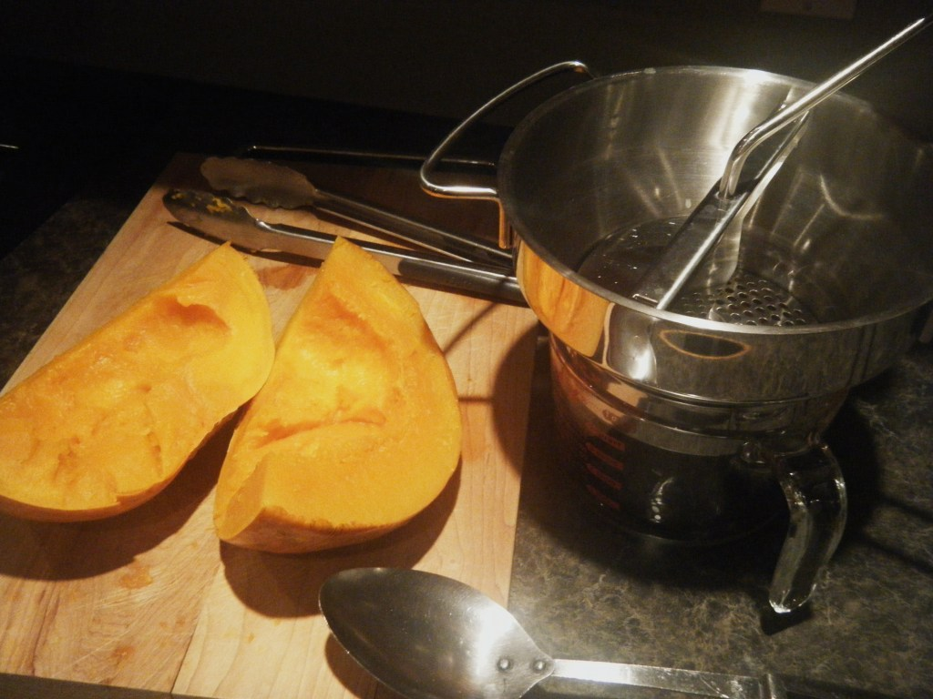 processing pumpkin