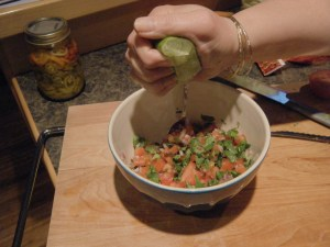Intoxicating pico de gallo