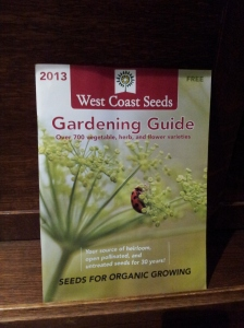 West Coast Seeds Garden Guide