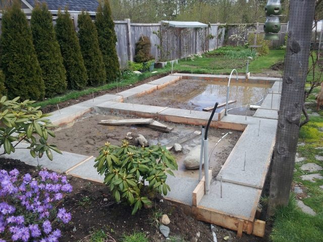 greenhouse footings