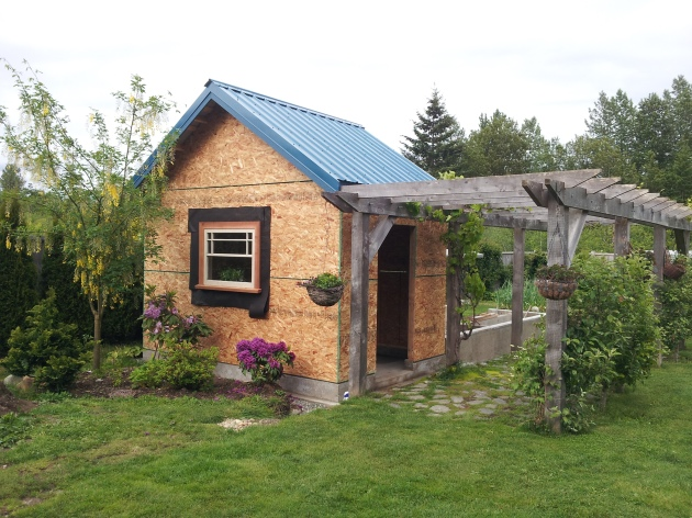 Average cost to build a 12x20 shed garden shed plans free for Garden sheds canada