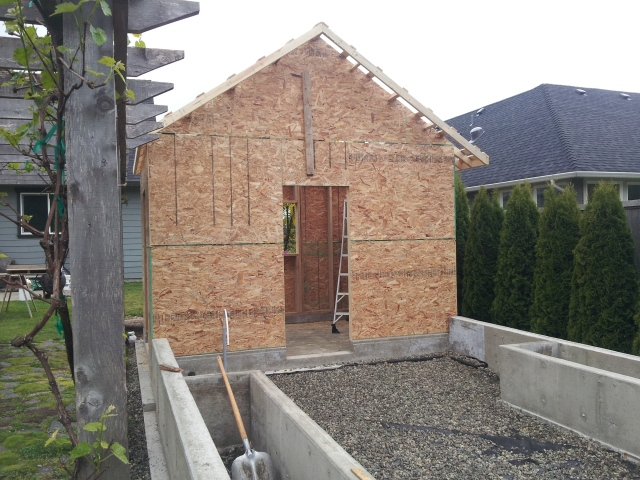 shed construction