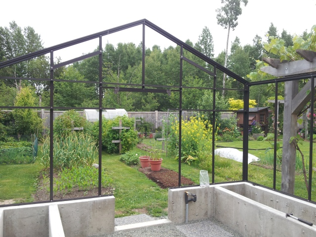 greenhouse endwall